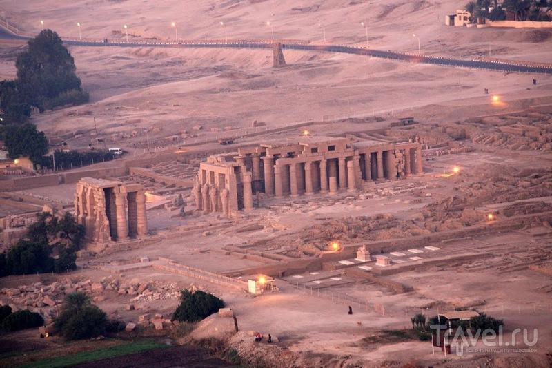 Рамессеум, поминальный храм Рамзеса II, Египет / Фото из Египта