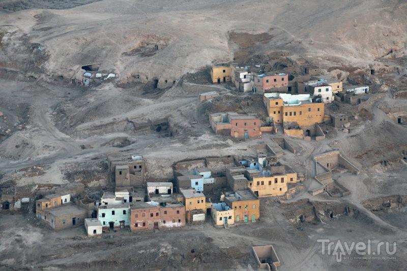 Египет. Пролетая над западным берегом / Фото из Египта