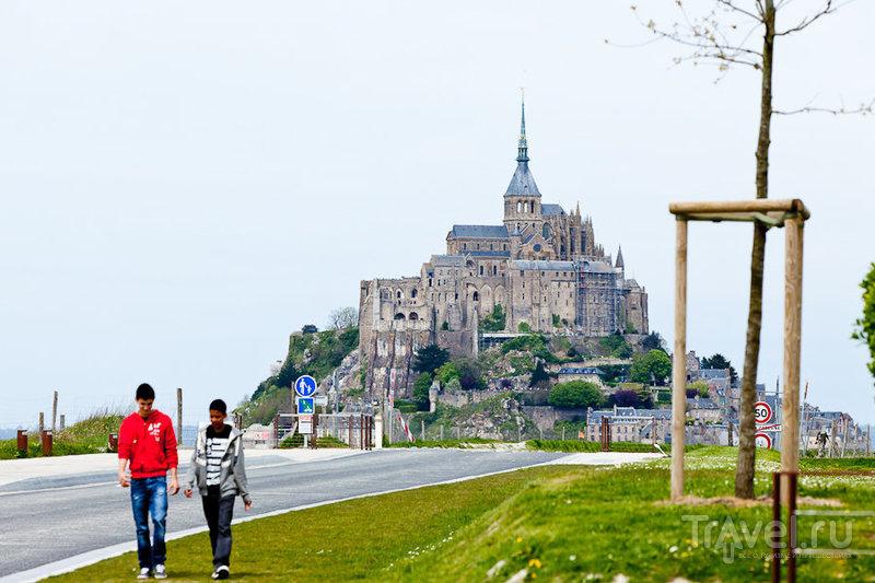 Мон-Сан-Мишель (Mont Saint-Michel) / Фото из Франции