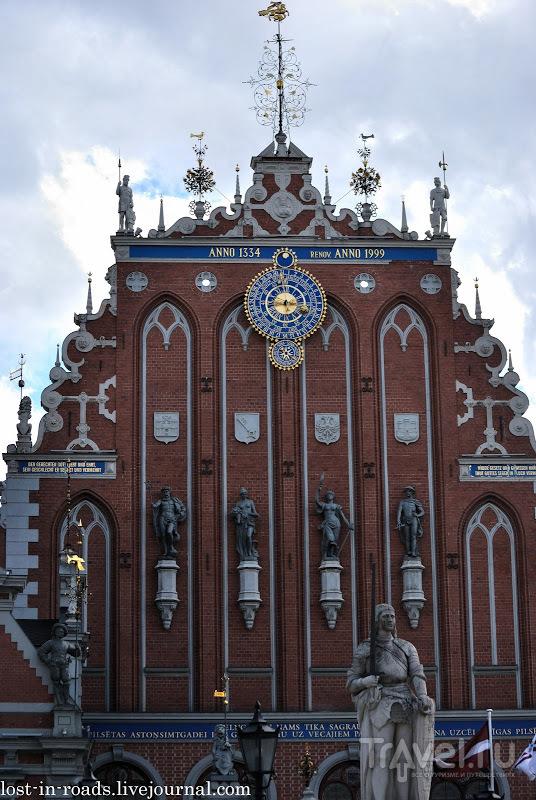 Дом Черноголовых в Риге, Латвия / Фото из Латвии