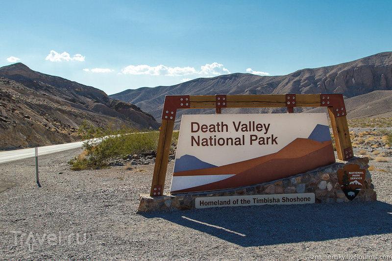 """В национальном парке """"Долина Смерти"""", США / Фото из США"""