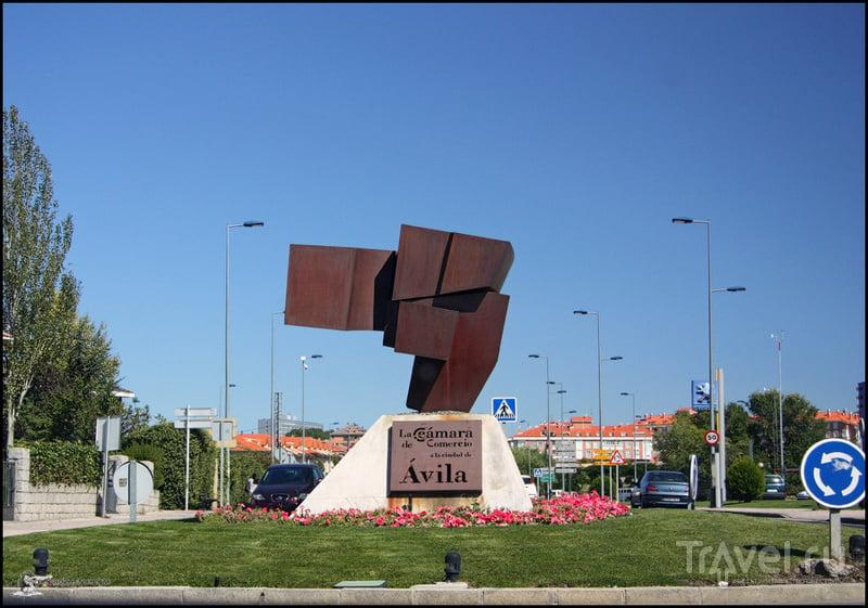 В городе Авила, Испания / Фото из Испании