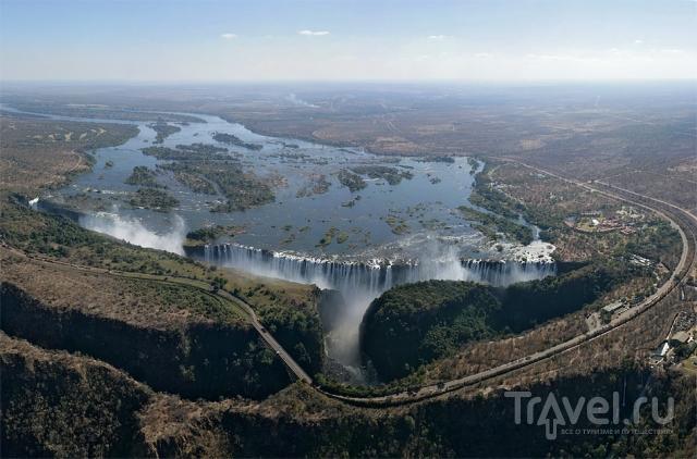 Замбия. Водопад Виктория / Замбия