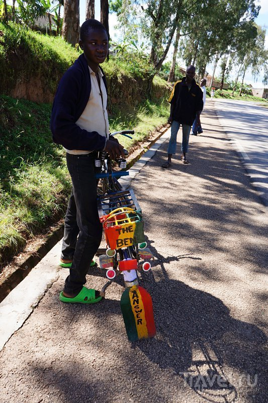 Крути педали, пока в Кигали! / Фото из Руанды