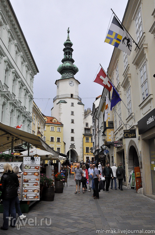 Михальские ворота / Фото из Словакии