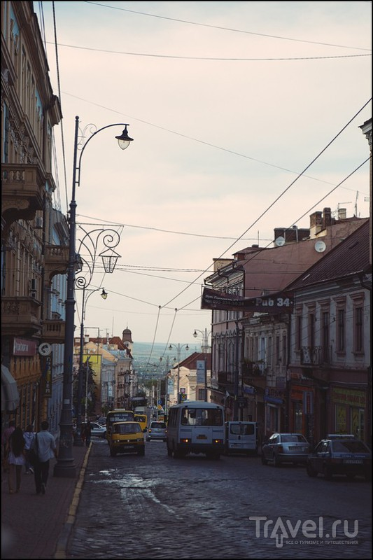 Украина. Черновцы - Ивано-Франковск - Коломыя / Украина