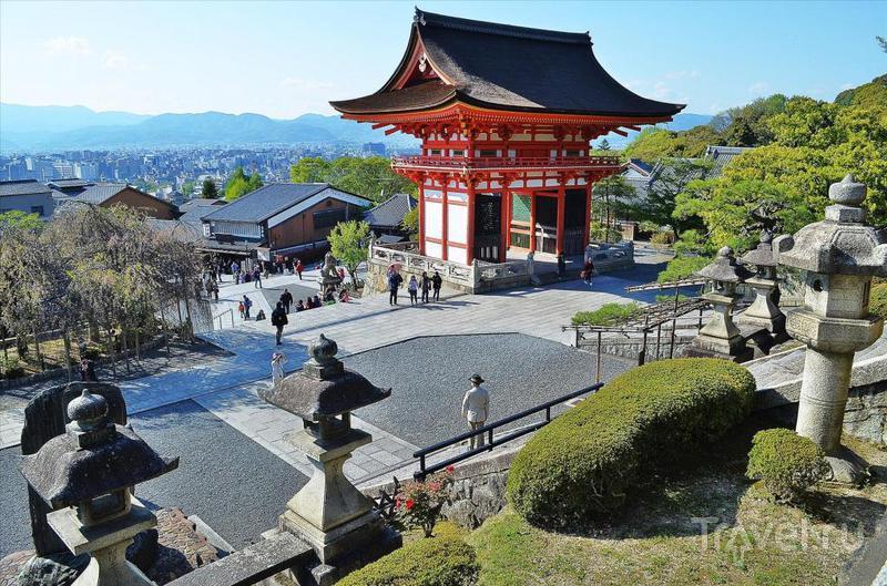 В городе Киото, Япония / Фото из Японии