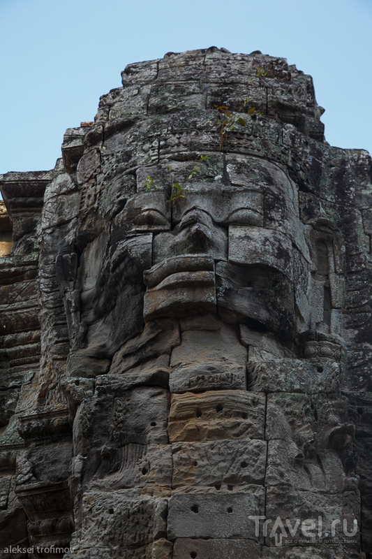 Храм Байон в Ангкоре, Камбоджа / Фото из Камбоджи