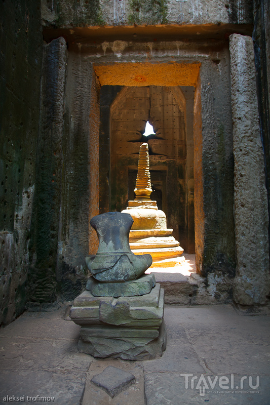 Храм Преах-Кан в Ангкоре, Камбоджа / Фото из Камбоджи