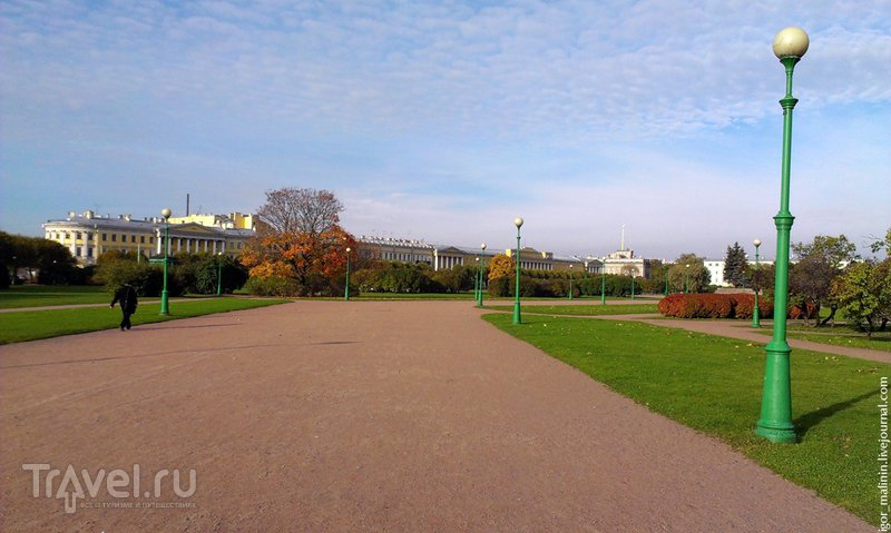 Марсово поле в Петербурге, Россия / Фото из России