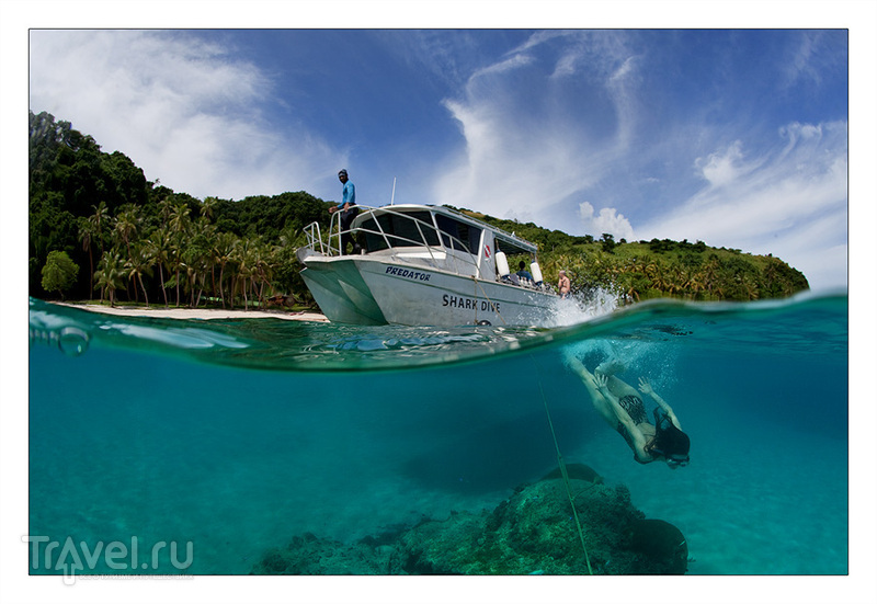 На островах Фиджи / Фото с Фиджи