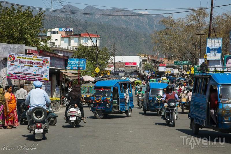 В городе Ришикеш, Индия / Фото из Индии