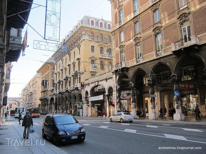 В городе Генуя, Италия / Фото из Италии