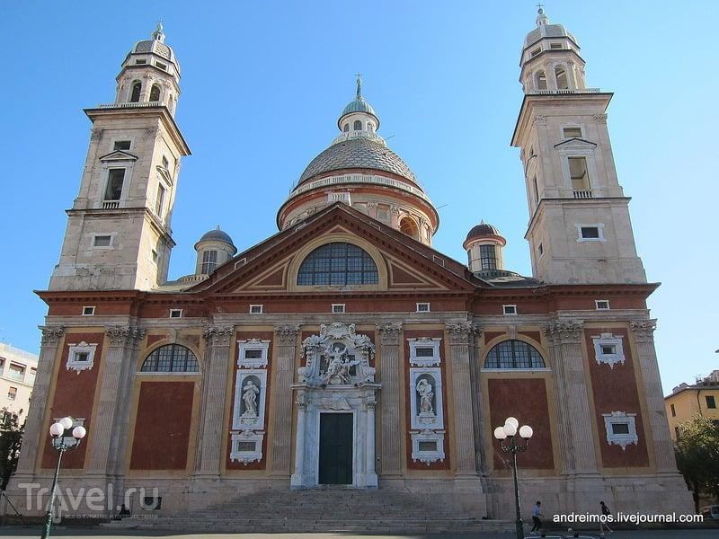 Базилика Успения Св.Марии (Basilica di Santa Maria Assunta) в Генуе, Италия / Фото из Италии