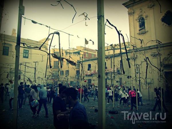 Италия... Апулия... бегущие в огне... / Италия
