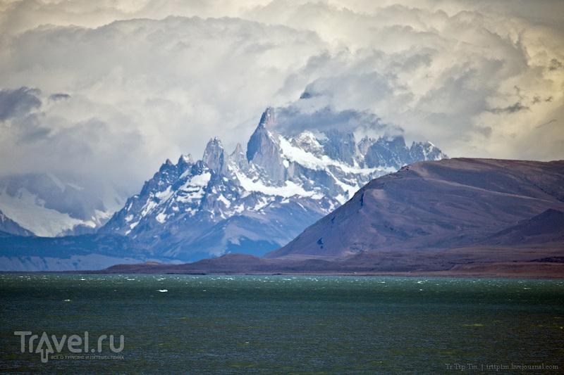 Озеро Вьедма и гора Фицрой, Аргентина / Фото из Аргентины