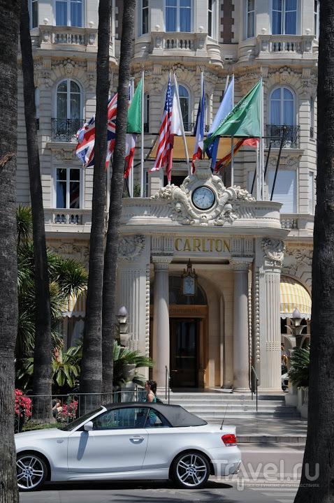 """Отель """"Карлтон"""" в Каннах, Франция / Фото из Франции"""