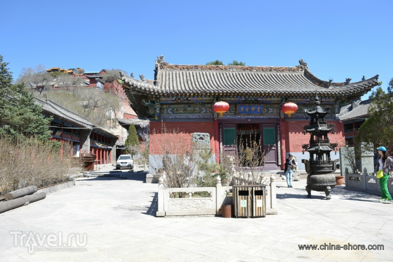 Горы Утайшань. О пяти монастырях понемногу / Китай