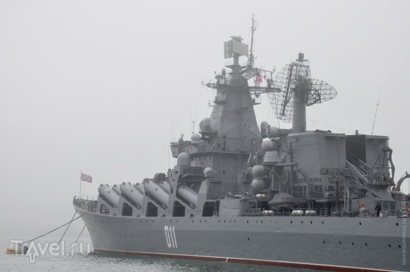 Город, притаившийся в тумане / Фото из России