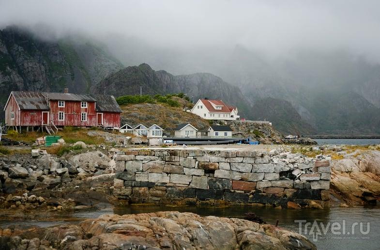 В деревне Henningsvaer на Лофотенских островах, Норвегия / Фото из Норвегии