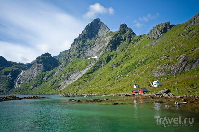 Деревня Виндштадт на Лофотенских островах, Норвегия / Фото из Норвегии