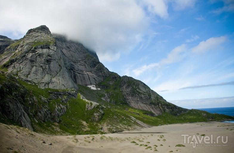 Bunes beach на Лофотенских островах, Норвегия / Фото из Норвегии