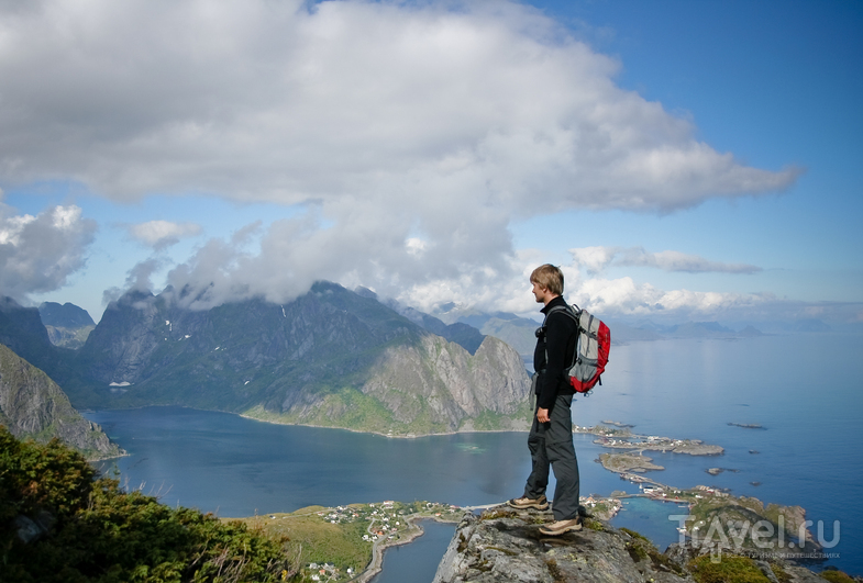 Кьеркфьорд на Лофотенских островах, Норвегия / Фото из Норвегии