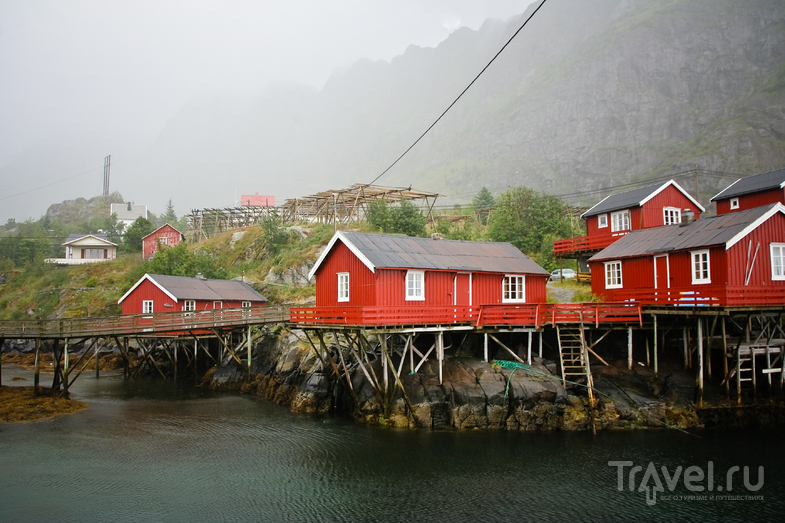 В городе О на Лофотенских островах, Норвегия / Фото из Норвегии