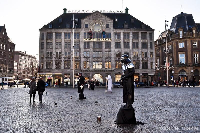 Музей восковых фигур Мадам Тюссо в Амстердаме, Нидерланды / Фото из Нидерландов