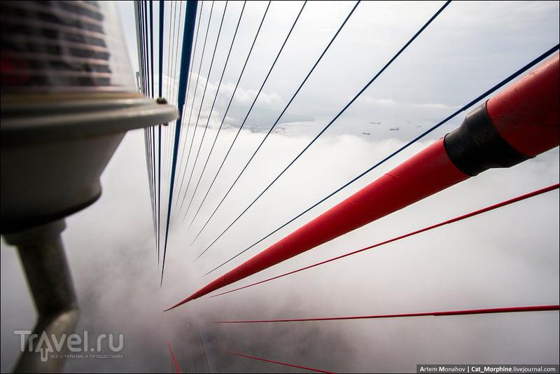 Мост на остров Русский во Владивостоке, Россия / Фото из России