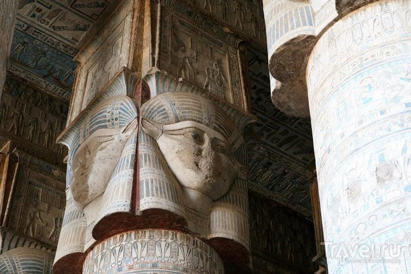 Храм в Дендере, Египет / Фото из Египта
