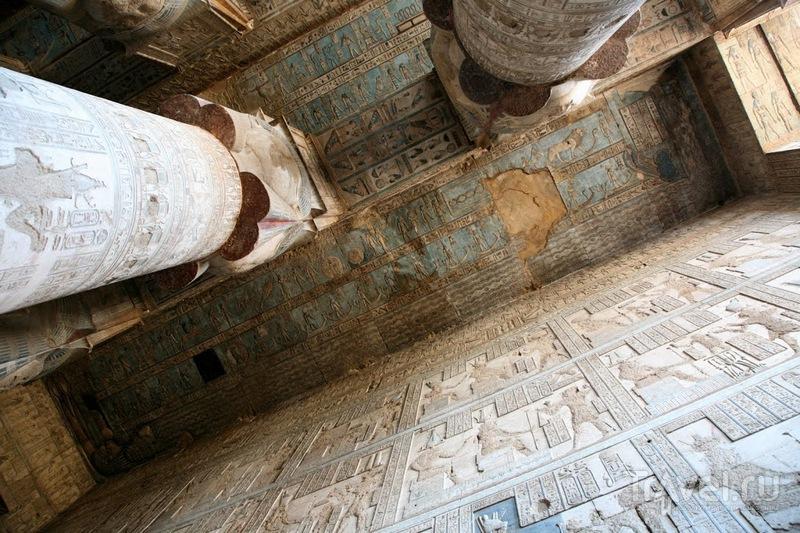 Храм в Дендере / Фото из Египта