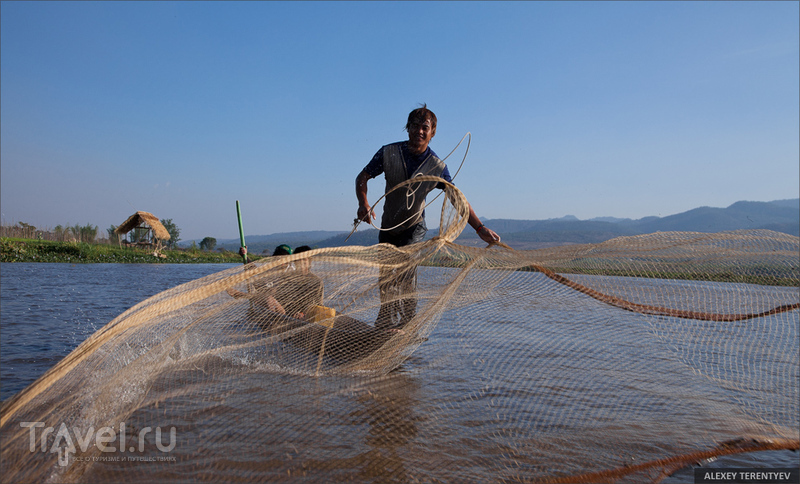 Мьянма: жизнь на воде / Фото из Мьянмы