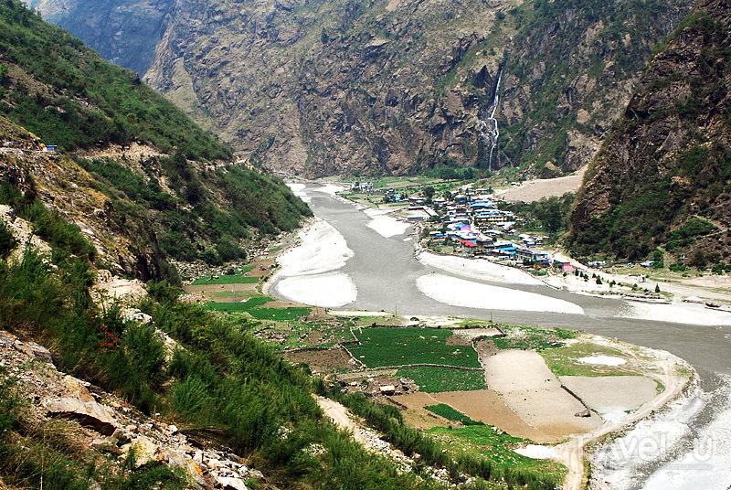 Треккинг вокруг Аннапурны, Непал / Фото из Непала