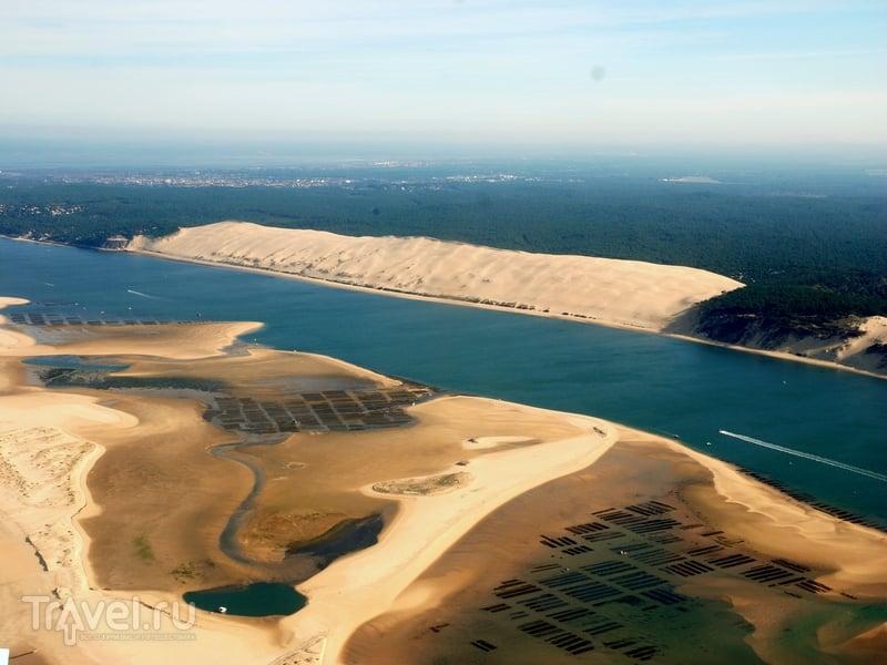 С каждым десятилетием дюна Пила перемещается вглубь континента / Франция
