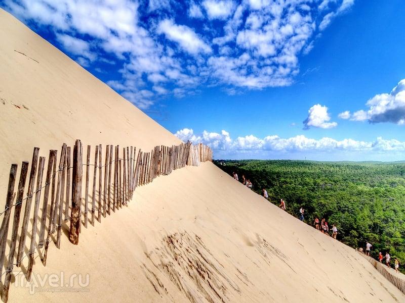 Подъем на самую крупную в Европе дюну Пила, Франция / Франция