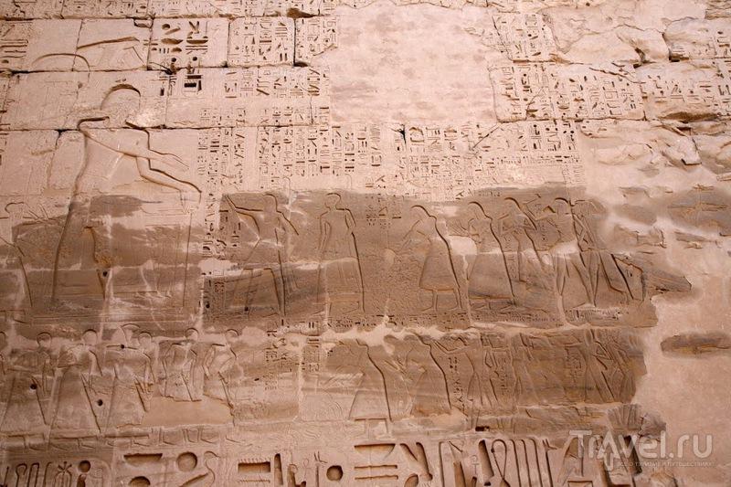 Поминальный храм Рамзеса III в Мединет-Абу / Фото из Египта