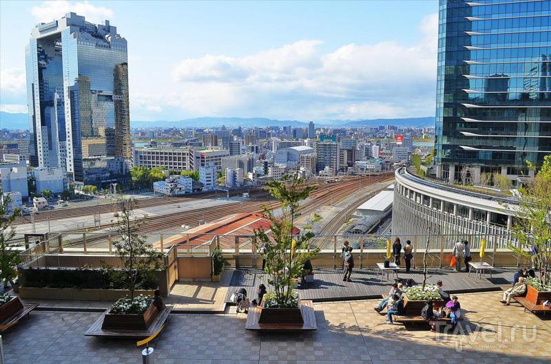 Осака как второй по величине мегаполис Японии / Фото из Японии