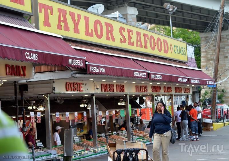 Рыбный рынок в пятнадцати минутах от Белого дома. Вашингтон / Фото из США