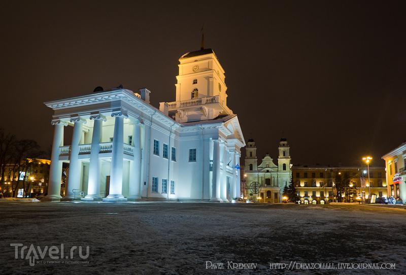 Площадь Свободы в Минске, Белоруссия / Фото из Белоруссии