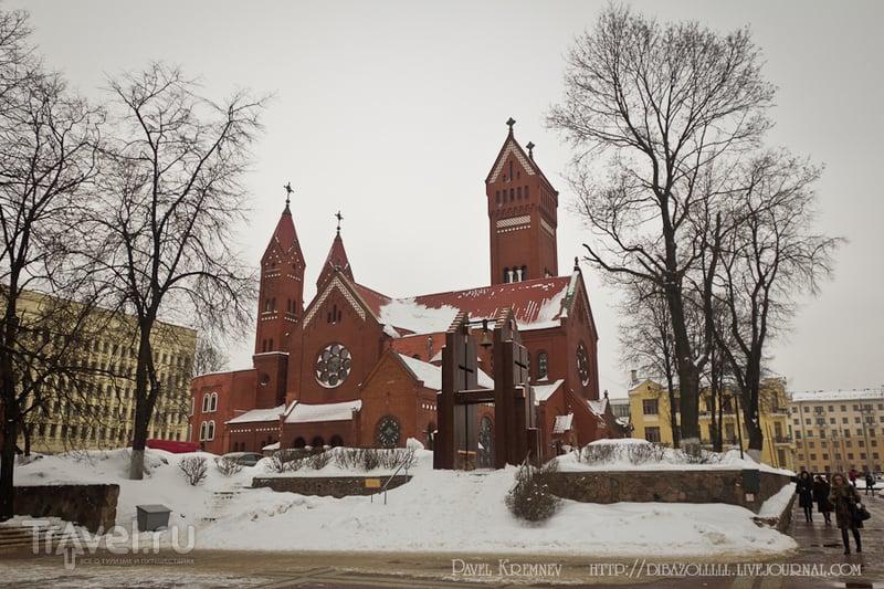 Костёл Святых Симеона и Елены в Минске, Белоруссия / Фото из Белоруссии