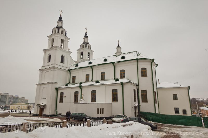Кафедральный Свято-Духов собор в Минске, Белоруссия / Фото из Белоруссии