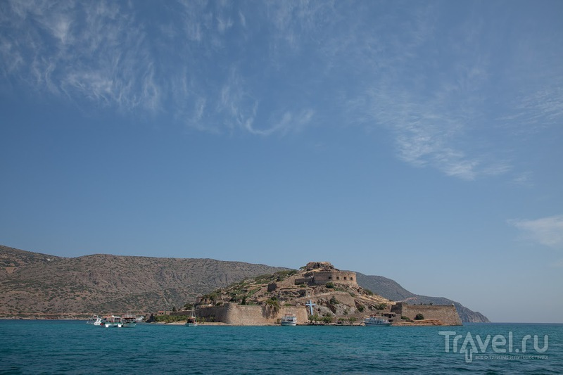 Остров Спиналонга, Крит / Фото из Греции