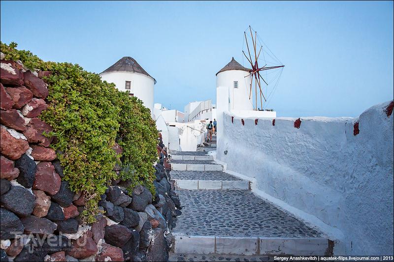 Старые ветряные мельницы Кикладских островов / Фото из Греции