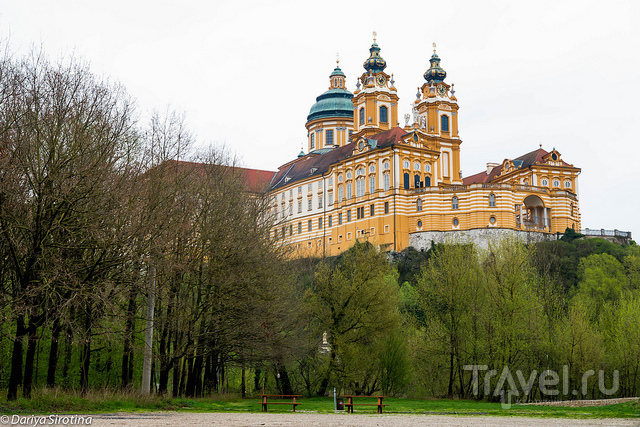 В городе Мельк, Австрия / Фото из Австрии