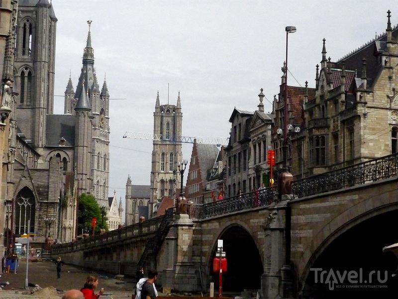 Мост святого Михаила в Генте, Бельгия / Фото из Бельгии