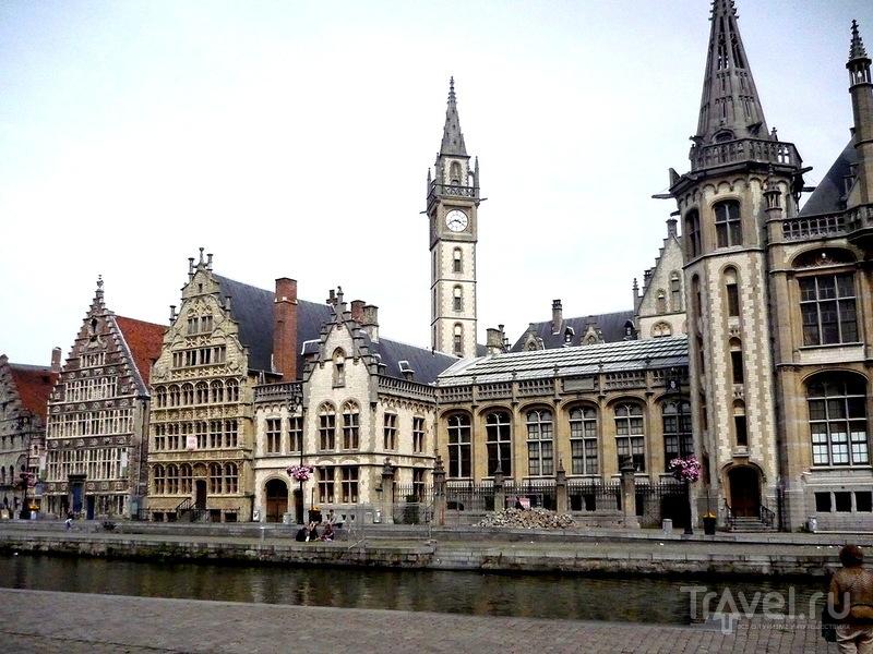 Старая гавань в Генте, Бельгия / Фото из Бельгии