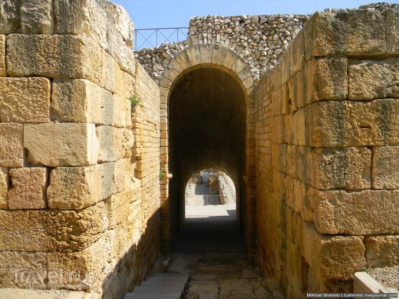 Римский амфитеатр в Таррагоне / Испания