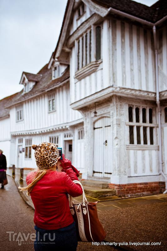 Англия: Lavenham (Лавенхем) / Фото из Великобритании
