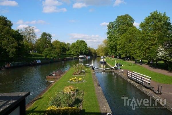 В городе Кембридж, Великобритания / Фото из Великобритании